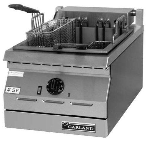 208V Single Phase Garland Ed-15F Designer Series 17 Lb. Electric Commercial Countertop Deep Fryer