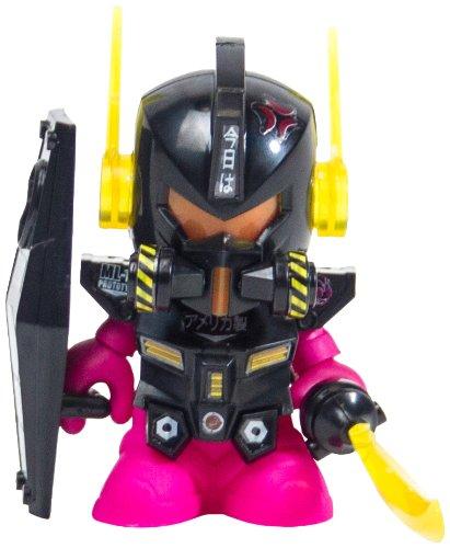 "Kidrobot Bot Mini Dam Gun 3"" Action Figure, Black Edition"
