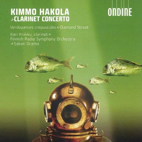 Concerto Pour Clarinette Et Orchestre, Verdoyances Crépuscules Pour Orchestre, Diamond Street Pour Clarinette Seule