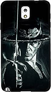 DailyObjects Zorro Case For Samsung Galaxy Note 3 (Back Cover)
