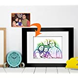 Fathers Day | Gift For Dad | Birthday Gift For Dad | Photo Frame(11x9)inch With Personalized Photo(7x5)inch By...