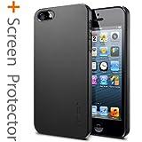 SPIGEN SGP iPhone5ケース ウルトラ・シン エア [スムース・ブラック] 【SGP09507】