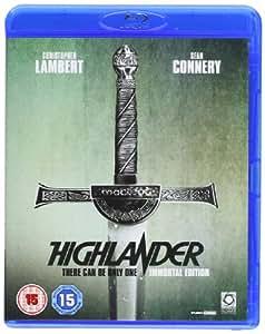 Highlander: Immortal Edition [Reino Unido] [Blu-ray]