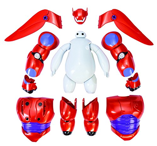 "Action Figures Big Hero 6 Armor-Up 6"" Hero Series Toys"