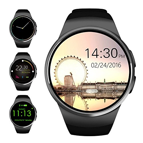 bluetooth-smart-watchevershop-13-inches-ips-round-touch-screen-water-resistant-smartwatch-phone-with