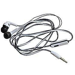 DEBOCK Black Headphone/Earphone Headset For ONE PLUS ONE