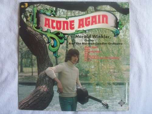 HARALD WINKLER Alone Again LP 1973 by Harald Winkler