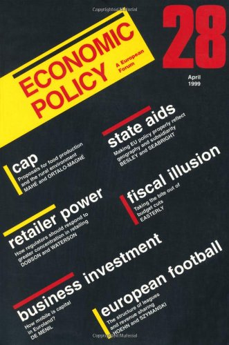 Economic Policy 28 (No. 28)