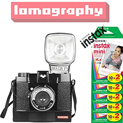 Lomography-Diana-F-Instant-Instax-Mini-Camera-(With-Fujifilm-Instant-Film-(100-Shots))