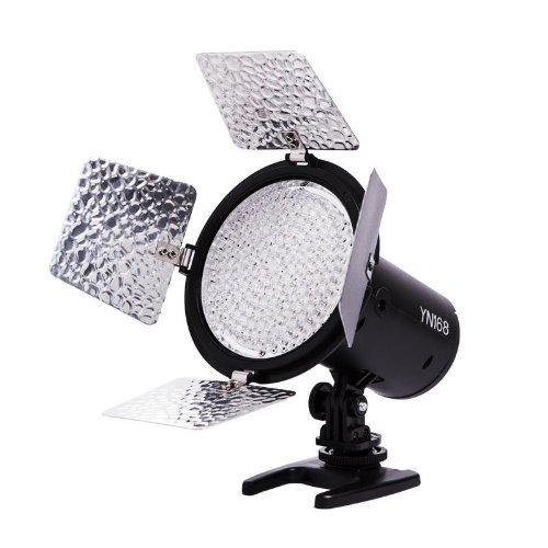 Yongnuo Yn-168 Led Video Light, 168 High-Quality Led Lamp Beads, Dc Power Supply(Optional)