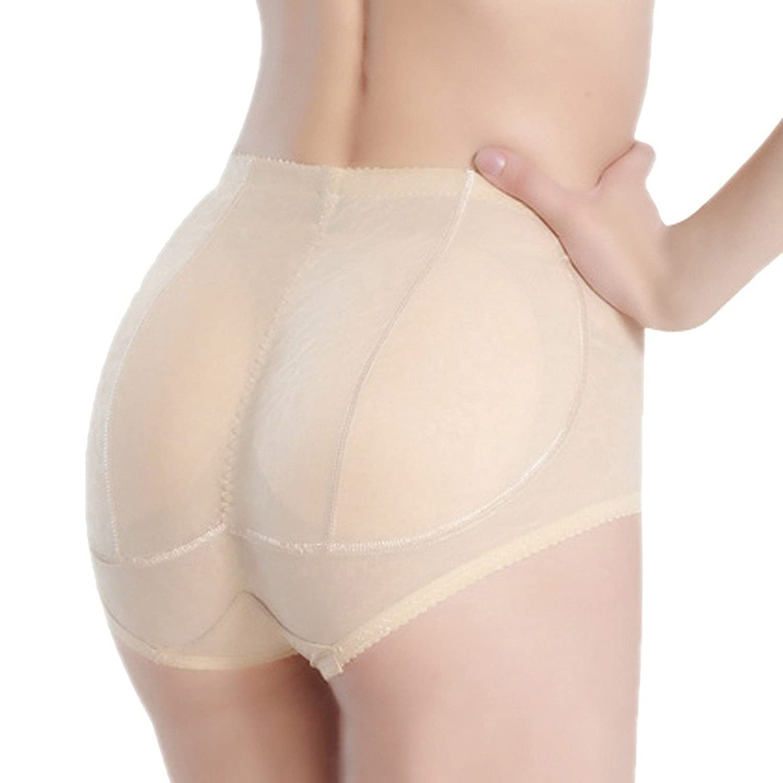 DEHANG Damen Hüfte Anheben Miederslip Gepolstert Slip Figurformender Unterhose