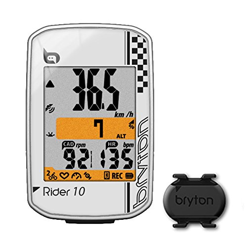 Bryton Rider 10E Bike Cycling Computer GPS Wireless Up to 29 Functions White New