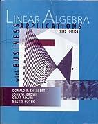 Linear Algebra Custom Edition (With Business…