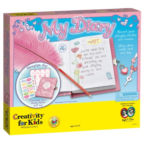Creativity For Kids Creativity For Kids My Diary front-552941