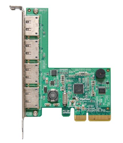 HighPoint-RocketRAID-644L-External-4-Port-PCI-Express-2-0-x4-SATA-III-6Gbps-Cont