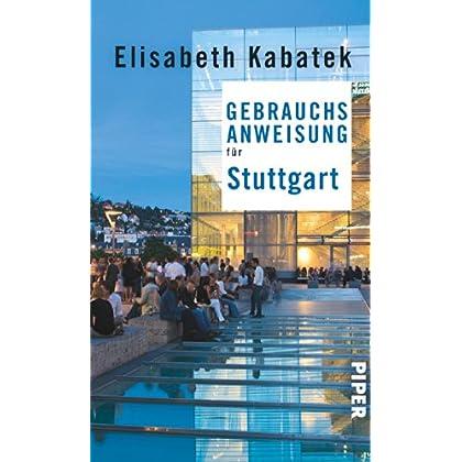 Gebrauchsanweisung für Stuttgart günstig kaufen