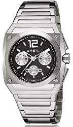 Breil Milano Men's TW0689 Chrono Analog Black Dial Watch