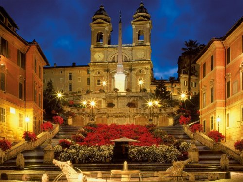 Ravensburger The Spanish Steps in Rome - 1500 Piece Puzzle