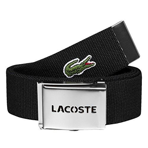 LACOSTE Gift Box Woven Strap W110 Black