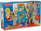 Fisher-Price Exciting Wheelies Loops 'N Swoops Amusement Park With Plenty Of Lights And Sounds
