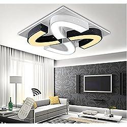 Style home® 48W LED design Deckenlampe Wandlampe dimmbar Fernbedienung 6905
