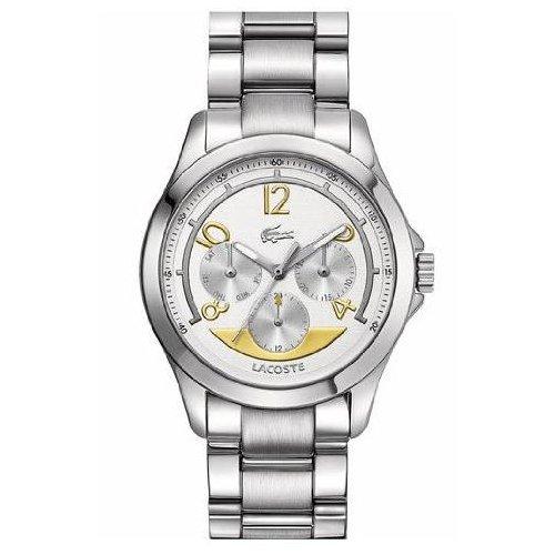 Lacoste Women's 38mm Chronograph Multicolor Steel Bracelet & Case Watch 2000708