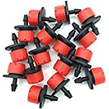 Generic Red : 300 Pcs Automatic Watering Nozzle Drip Red Sprinkler Head For Family Irrigation Selling Models Wholesale...
