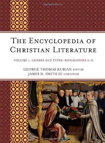 The Encyclopedia Of Christian Literature (2 Vol Set)