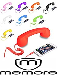 Memore COCO PHONE Radiation Free Phone 3.5mm Wired Retro Handset Receiver (Color May Vary)
