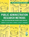 img - for Public Administration Research Methods: Tools for Evaluation and Evidence-Based Practice book / textbook / text book