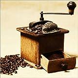 """Poster 60 x 60 cm: Kaffeem�hle von Falko Follert Art-FF77 - hochwertiger Kunstdruck, neues Kunstpostervon """"Falko Follert Art-FF77"""""""