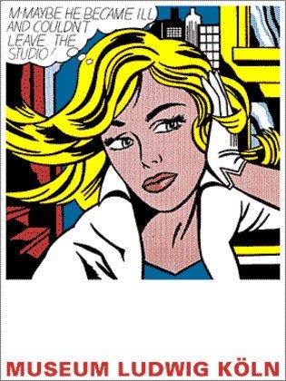 Roy Lichtenstein - Maybe - Poster Kunstdruck Bild - 80 x 60 cm - kostenloser Versand