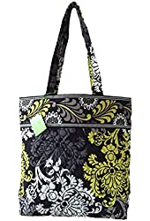 Vera Bradley Tote with Solid Color Interior (Updated Version)
