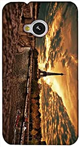 Timpax protective Armor Hard Bumper Back Case Cover. Multicolor printed on 3 Dimensional case with latest & finest graphic design art. Compatible with HTC M7 Design No : TDZ-26213