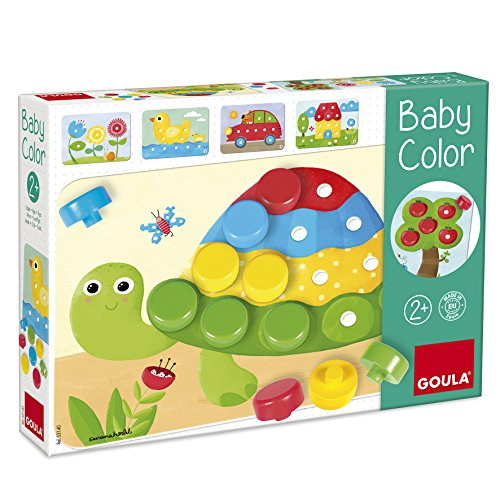 Goula - Set Baby color, 20 piezas, color rojo / azul / amarillo / verde (Diset, S.A 53140)