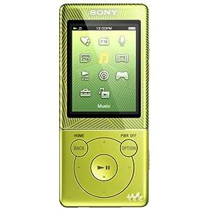 Sony NWZE474G Walkman D&D MP3-Player 8GB inkl. 2 Spiele, Alugehäuse grün