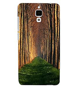ColourCraft Beautiful View Design Back Case Cover for XIAOMI MI 4