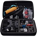 BV & Jo Travel Portable Shockproof Storage Protective Carry Case Bag for GoPro Hero 2 3 3+ 4 & Camera Accessories (Large)