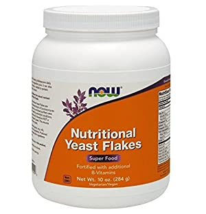 Now Foods Nutritional Yeast Flakes, 10-Ounce