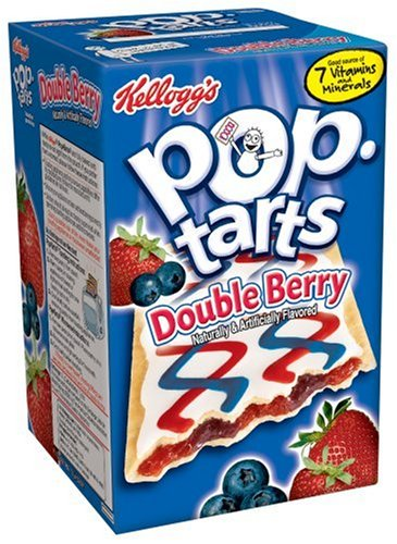 Buy Kellogg's Pop-Tarts Frosted Double Berry, 14.1-Ounce, 8-Count Boxes (Pack of 12) (Pop-Tarts, Health & Personal Care, Products, Food & Snacks, Breakfast Foods, Toaster Pastries)