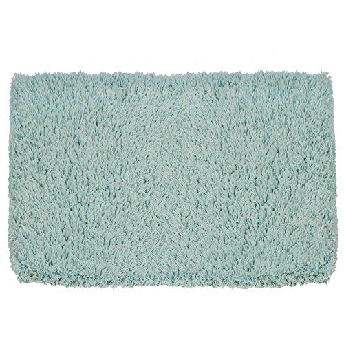 Microfiber Water Absorbent Non Slip Antibacterial Rubber Bath Mat 17 X27