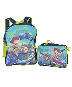 """Toy Story """"Intergalactic"""" Backpack with Lunchbox from Disney"""