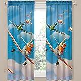 Disney Planes Window Panels / Curtains / Drapes - Set of 2