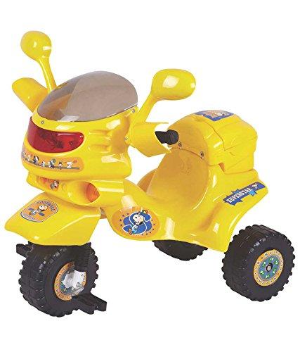 EZ' PLAYMATES BIKE ATV TRICYCLE YELLOW