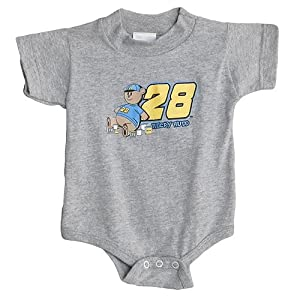 #28 Ricky Rudd Grey Bear Creeper 6 Mth Sports Image by Brickels