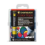 Chameleon Art Products Chameleon Color Tops, Primary Tones 5-Pen Set (Color: Primary)