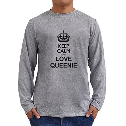 Keep calm and love Queenie ロングスリーブTシャツ