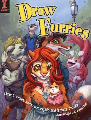Draw Furries: How to Create Anthropomorphic and Fantasy Animals (Drawing Furries compare prices)