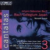 Bach: Cantatas, Vol. 3 n° 12 54 162 182