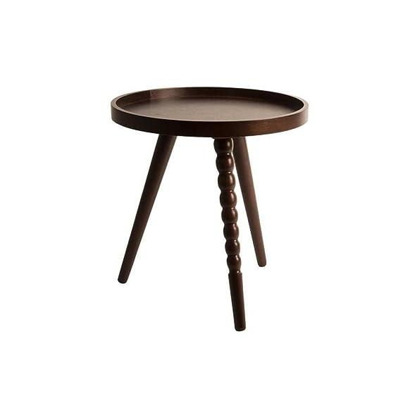 Tavolino Arabica di dutchbone 40x 45cm Noce